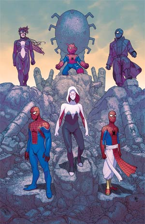 Spider-Verse Vol 2 #5 Cover A Regular Andre Araujo Cover (Secret Wars Warzones Tie-In)