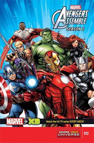 Marvel Universe Avengers Assemble Season 2 #12