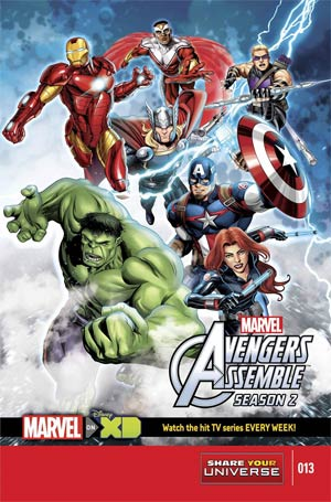 Marvel Universe Avengers Assemble Season Two