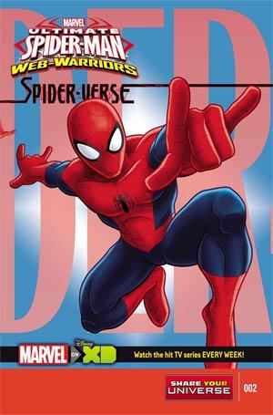 Marvel Universe Ultimate Spider-Man Spider-Verse #2