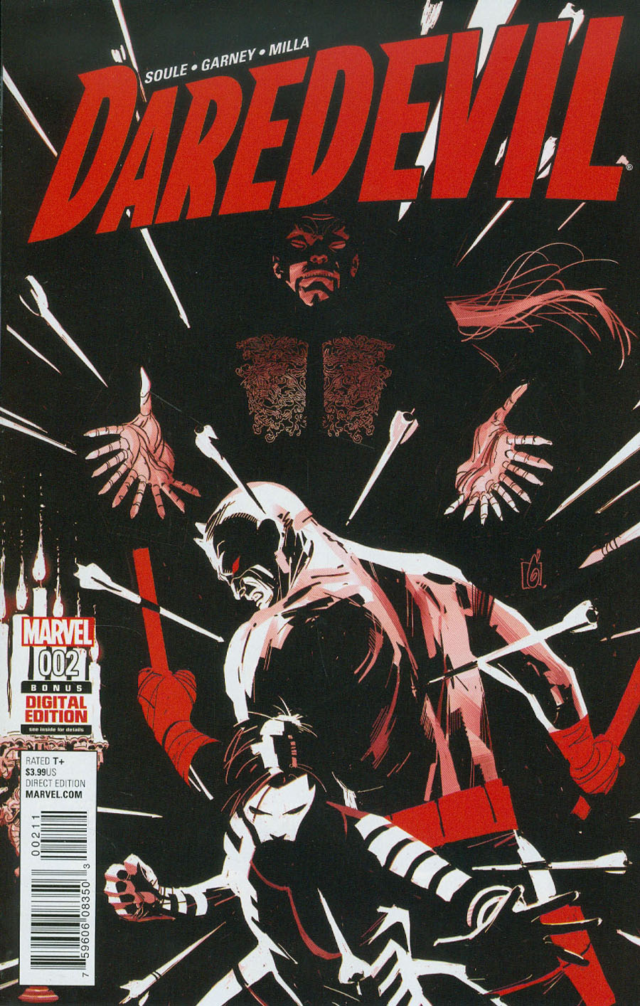 Daredevil Vol 5 #2 Cover A Regular Ron Garney Cover