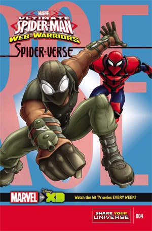 Marvel Universe Ultimate Spider-Man Spider-Verse #4