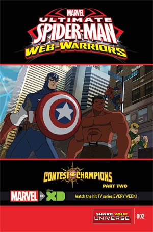 Marvel Universe Ultimate Spider-Man Contest Of Champions #2