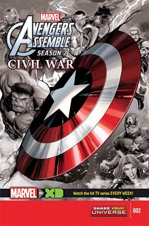 Marvel Universe Avengers Assemble Civil War #2