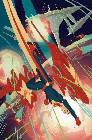 Captain Marvel Vol 8 #4 Cover A Regular Kris Anka Cover