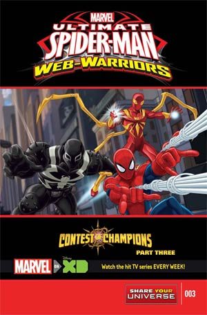 Marvel Universe Ultimate Spider-Man Contest Of Champions #3