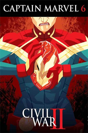 Captain Marvel Vol 8 #6 Cover A Regular Kris Anka Cover (Civil War II Tie-In)
