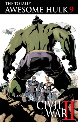 Totally Awesome Hulk #9 (Civil War II Tie-In)