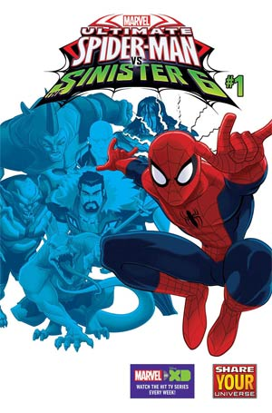 Marvel Universe Ultimate Spider-Man vs the Sinister Six