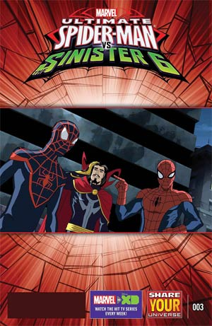Marvel Universe Ultimate Spider-Man vs Sinister Six #3
