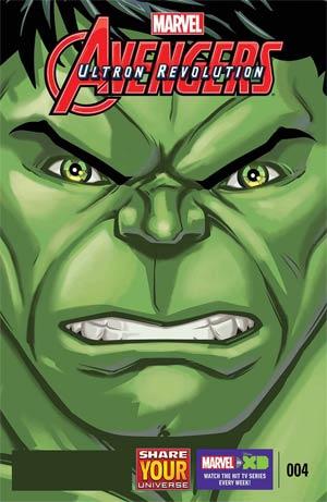 Marvel Universe Avengers Ultron Revolution #4