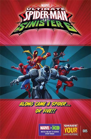 Marvel Universe Ultimate Spider-Man vs Sinister Six #5