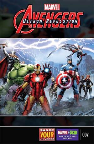 Marvel Universe Avengers Ultron Revolution #7