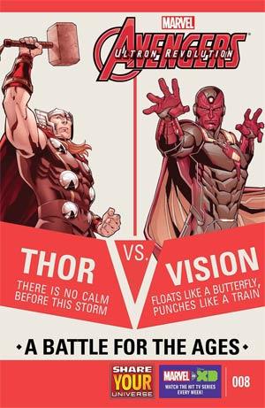 Marvel Universe Avengers Ultron Revolution #8