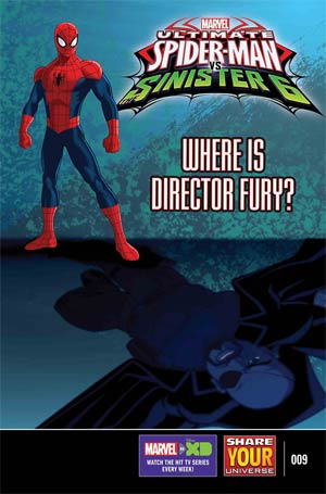 Marvel Universe Ultimate Spider-Man vs Sinister Six #9