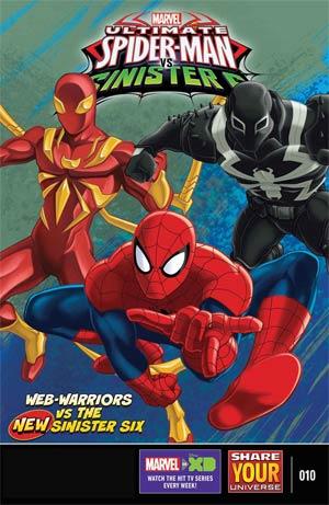 Marvel Universe Ultimate Spider-Man vs Sinister Six #10