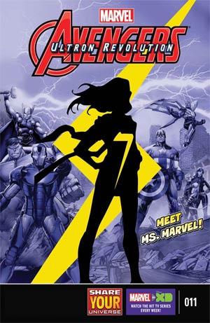 Marvel Universe Avengers Ultron Revolution #11