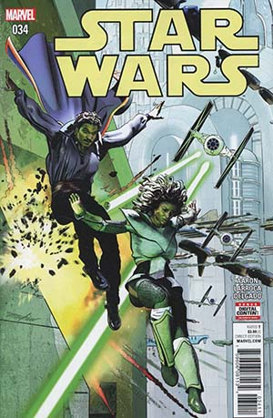 Star Wars Vol 4 #34 Cover A Regular Mike Mayhew Cover