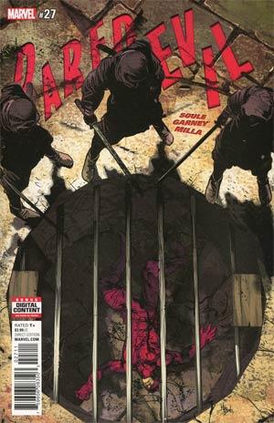 Daredevil Vol 5 #27 Cover A Regular Mike Deodato Jr Cover