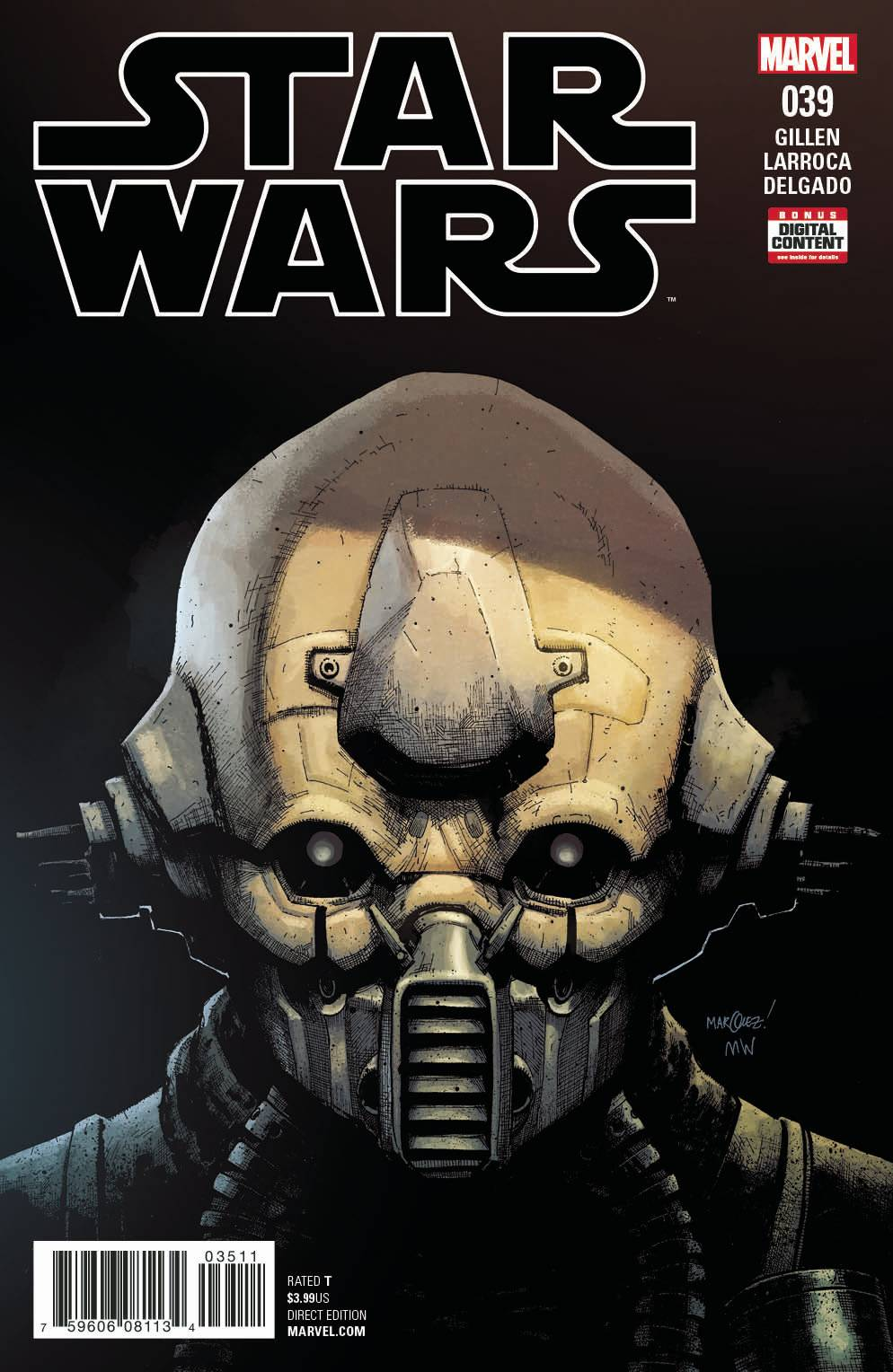 Star Wars Vol 4 #39 Cover A Regular David Marquez Cover