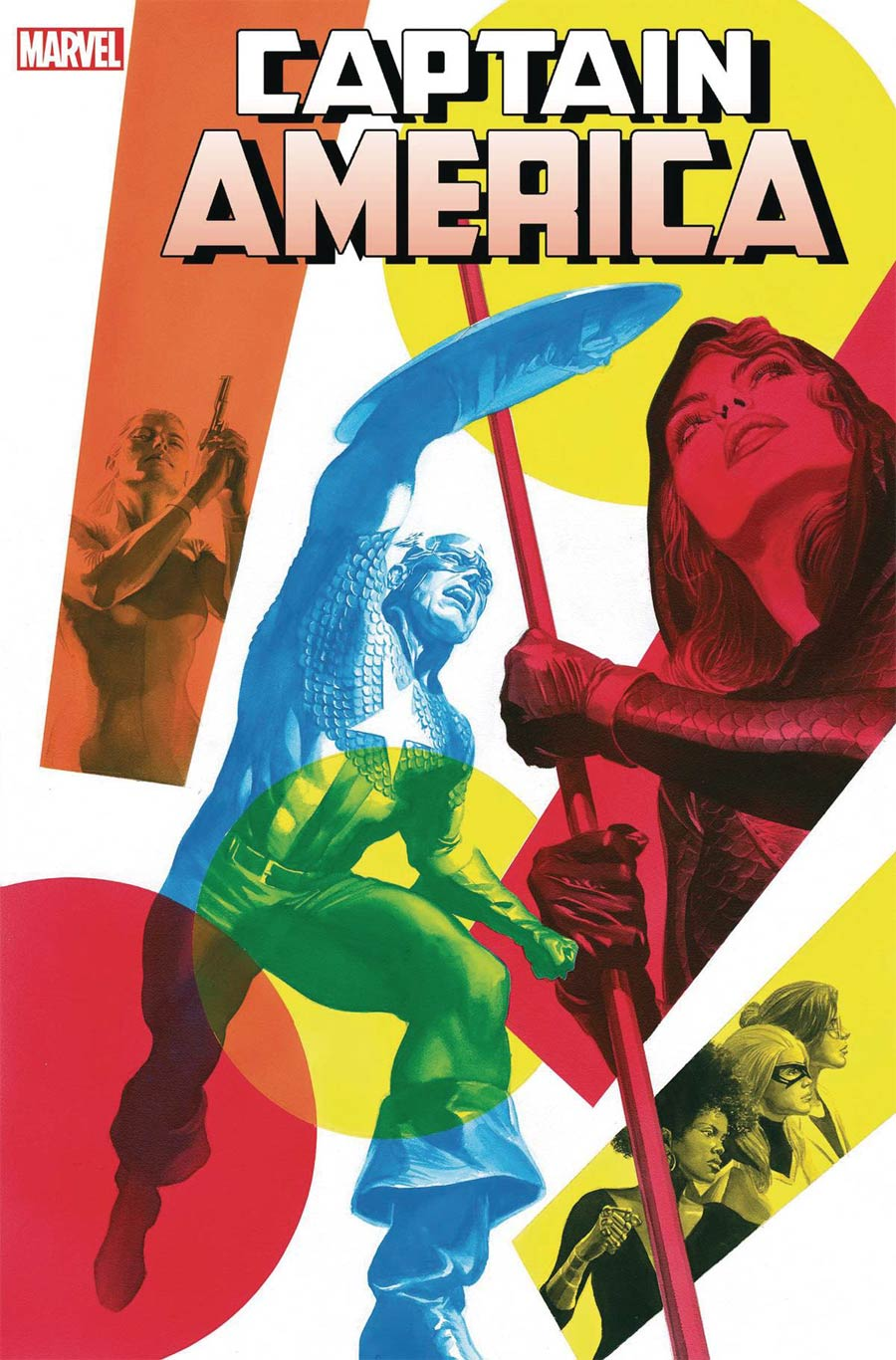 Captain America Vol 9 #20 Cover A Regular Alex Ross Cover