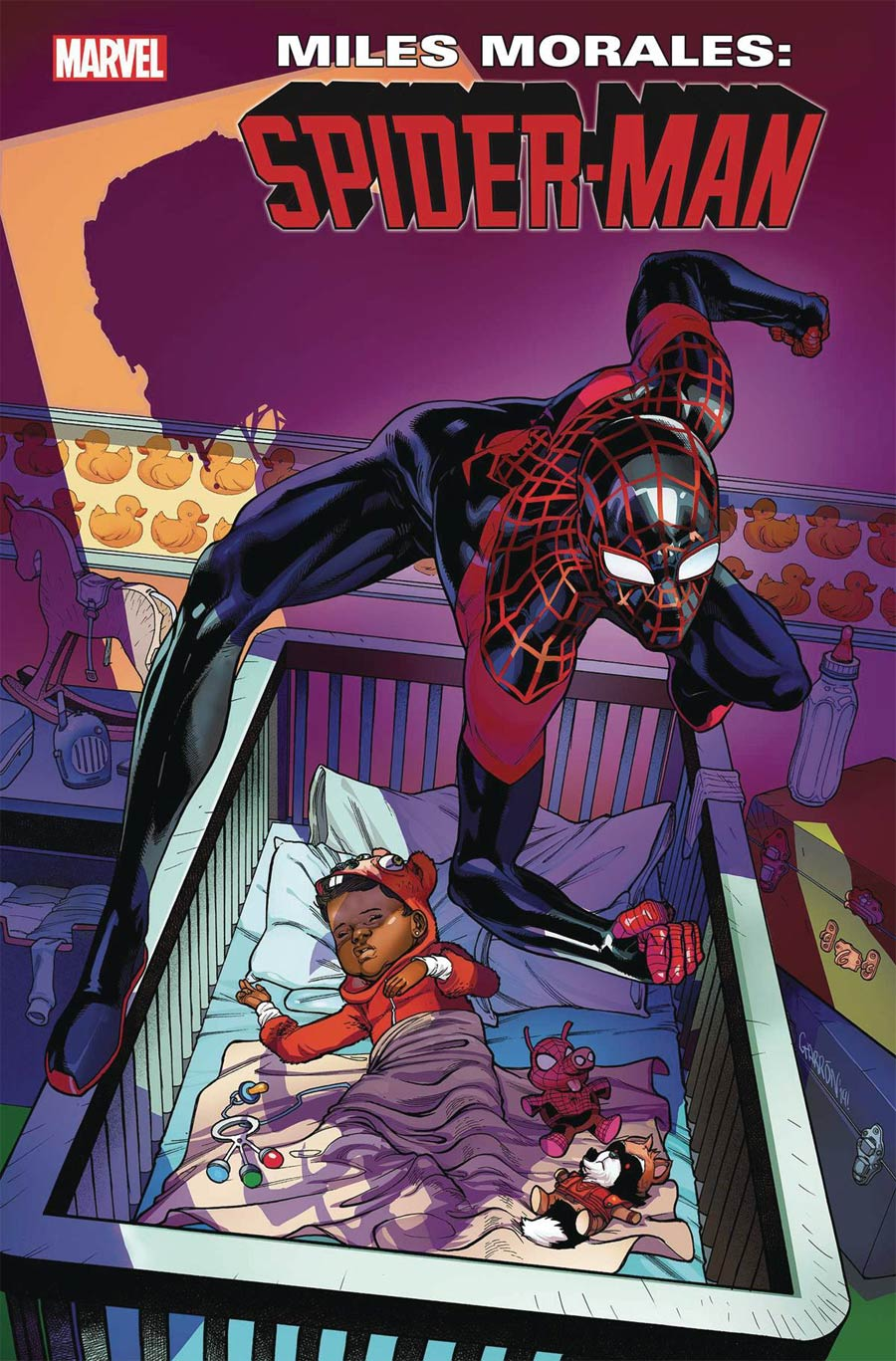 Miles Morales Spider-Man #16 Cover A Regular Javier Garron Cover