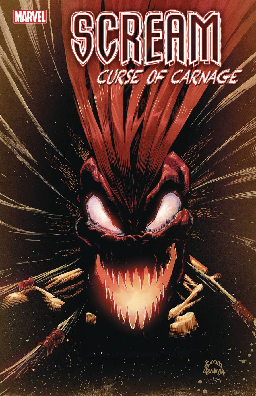 Scream Curse Of Carnage #5 Cover A Regular Ryan Stegman Cover
