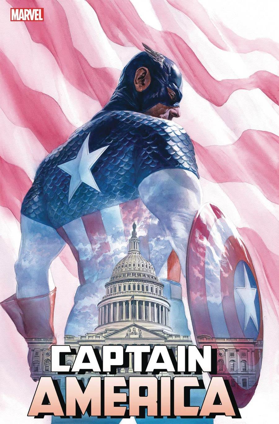 MARVEL COMICS//2019 CAPTAIN AMERICA #9 ALEX ROSS MAIN COVER