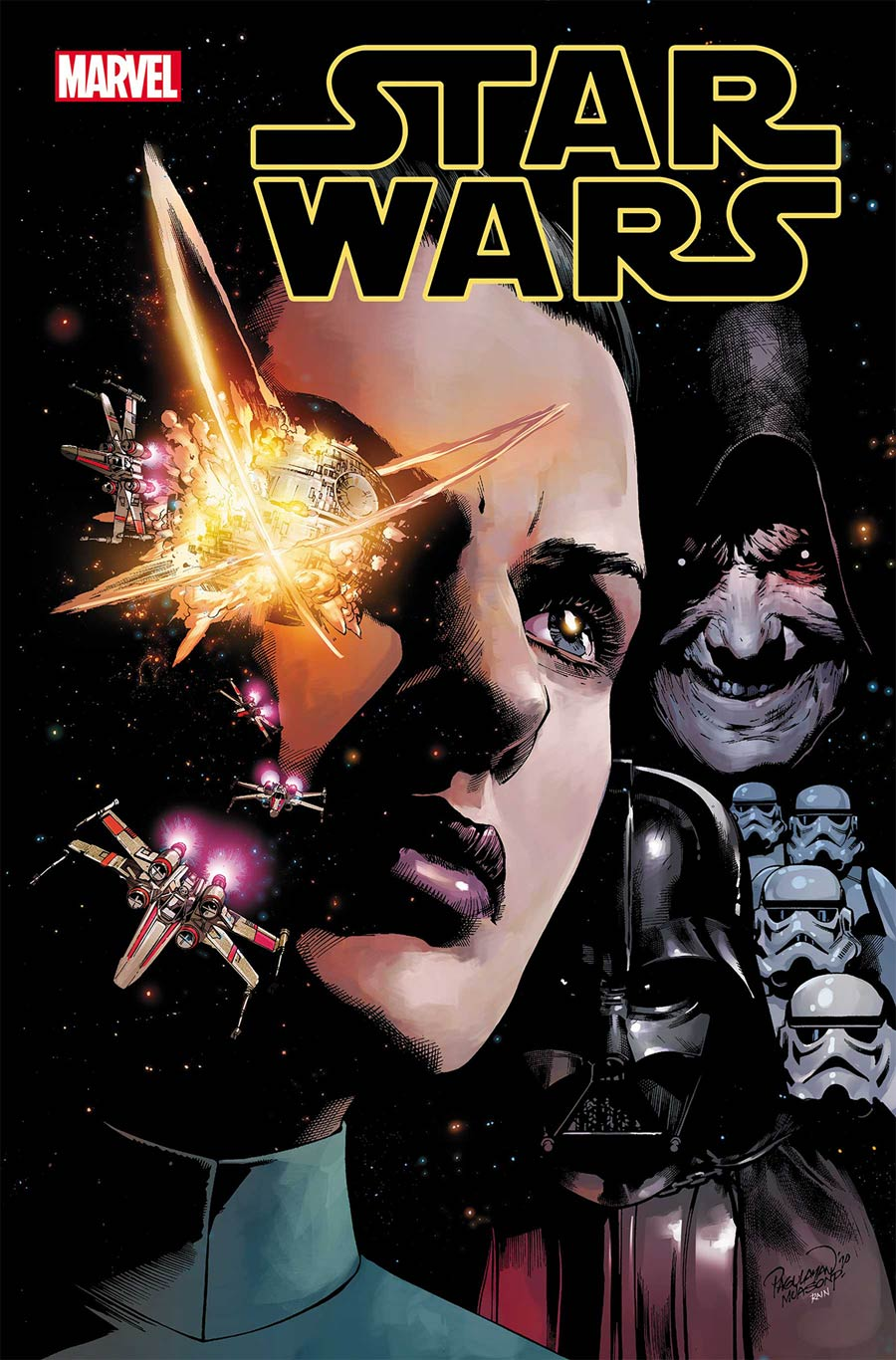 Star Wars Vol 5 #8 Cover A Regular Carlo Pagulayan Cover