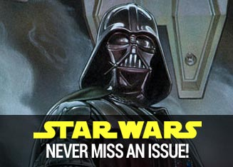 Star Wars never miss an issue.