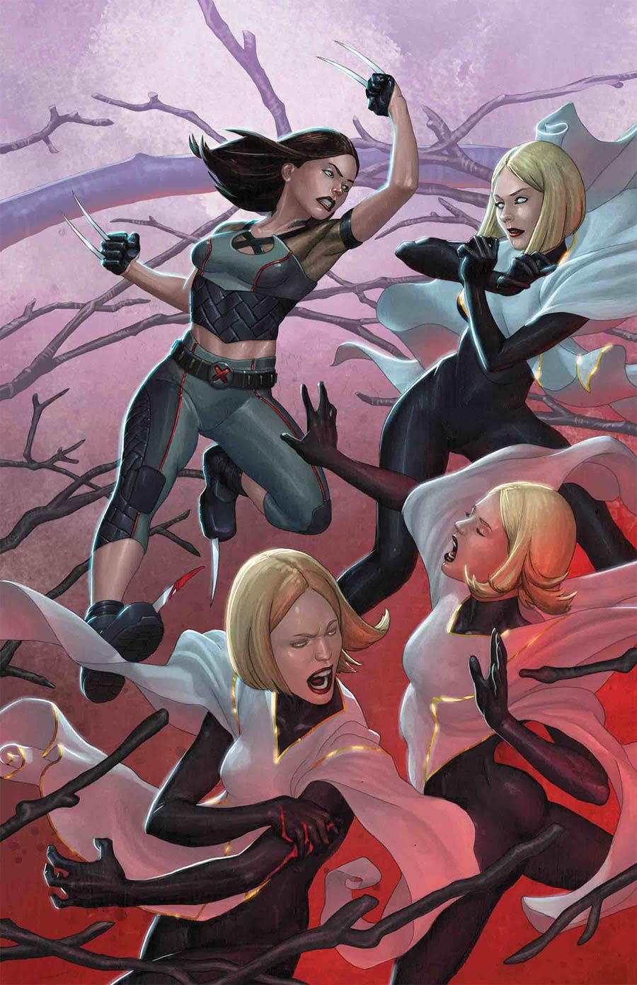 X-23 Vol 3 #2 Cover A Regular Mike Choi Cover