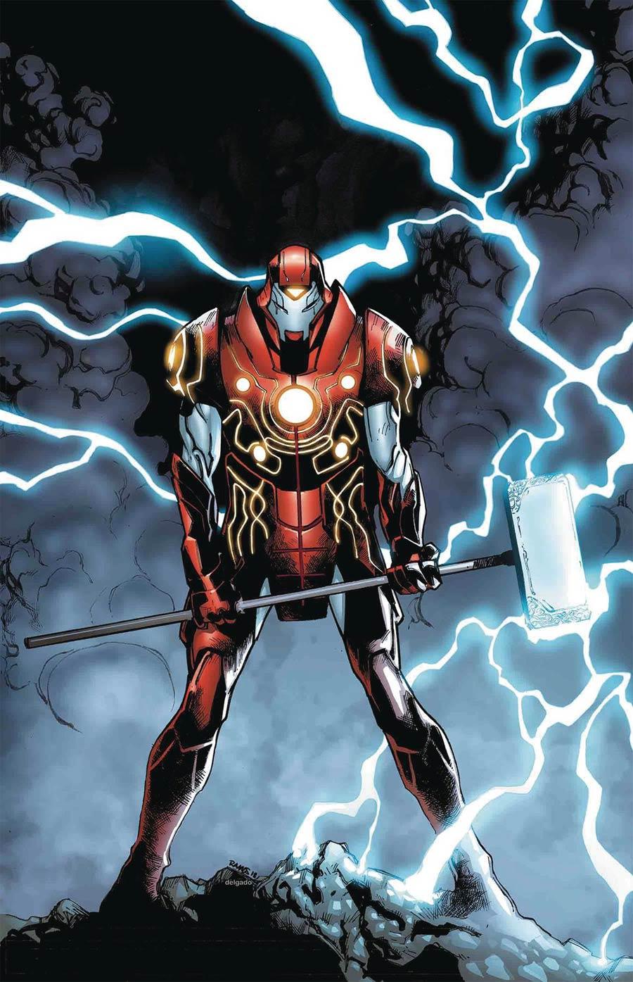Infinity Wars Iron Hammer #1 Cover A Regular Humberto Ramos Cover