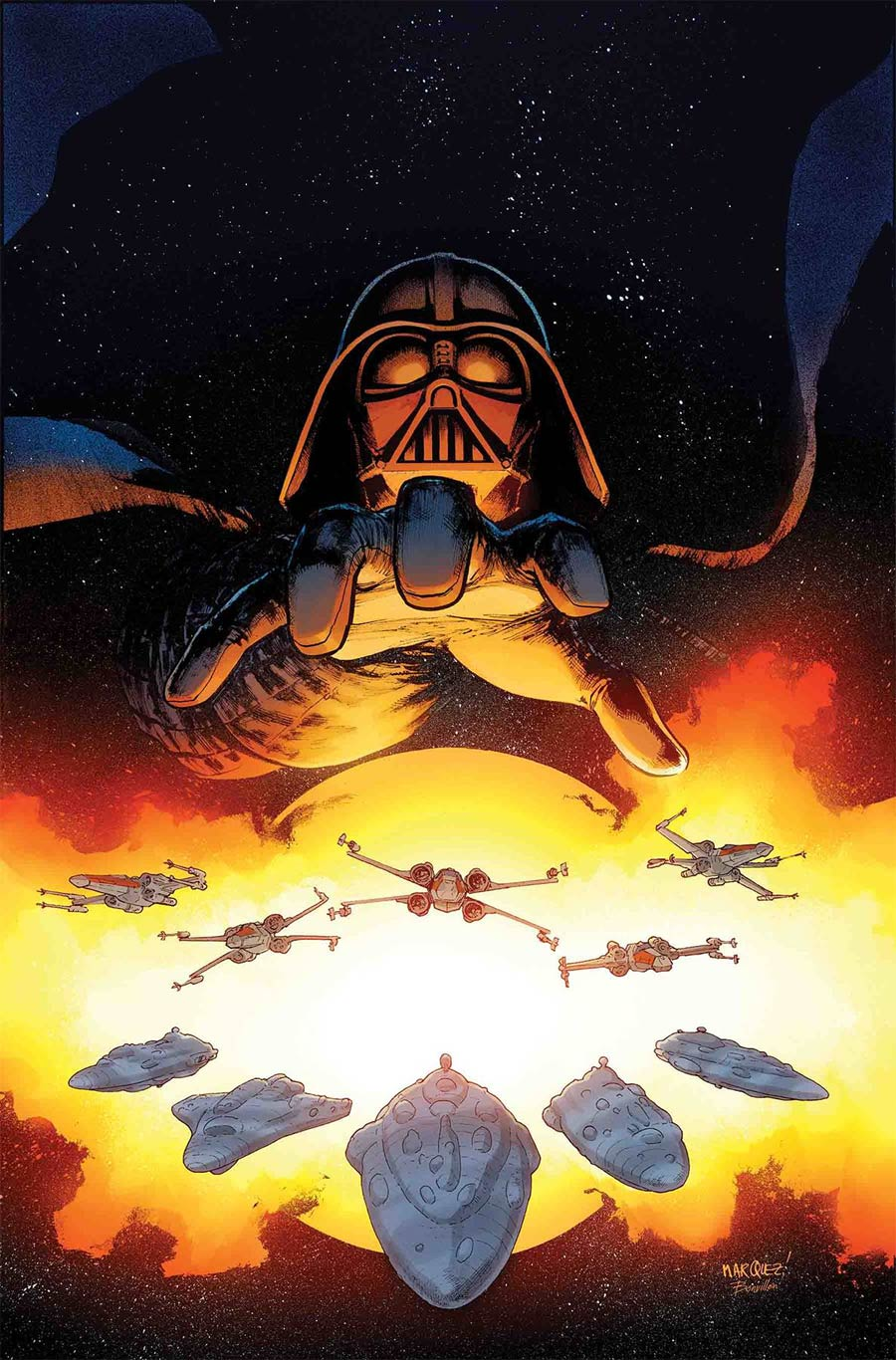Star Wars Vol 4 #55 Cover A Regular David Marquez Cover