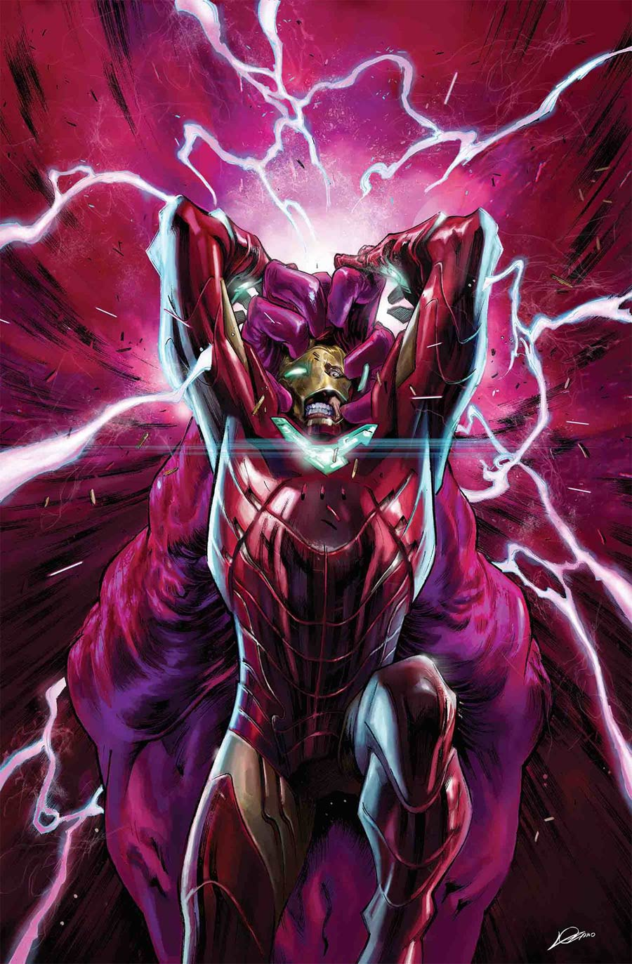 Tony Stark Iron Man #6 Cover A Regular Alexander Lozano Cover