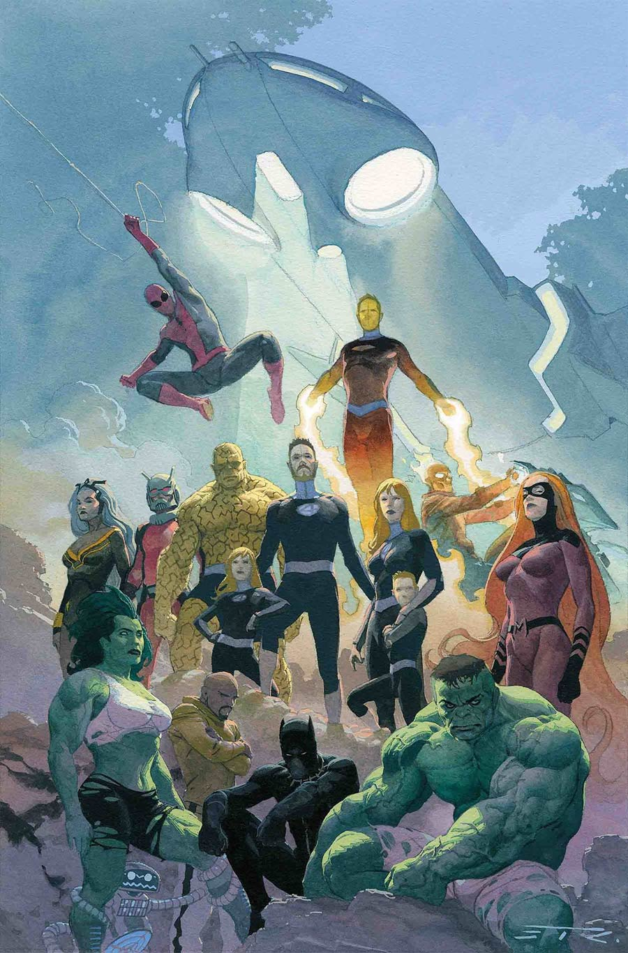 Fantastic Four Vol 6 #3 Cover A Regular Esad Ribic Cover