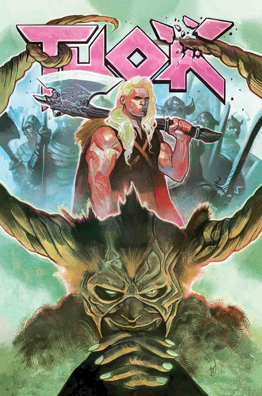 Thor Vol 5 #7 Cover A Regular Mike Del Mundo Cover
