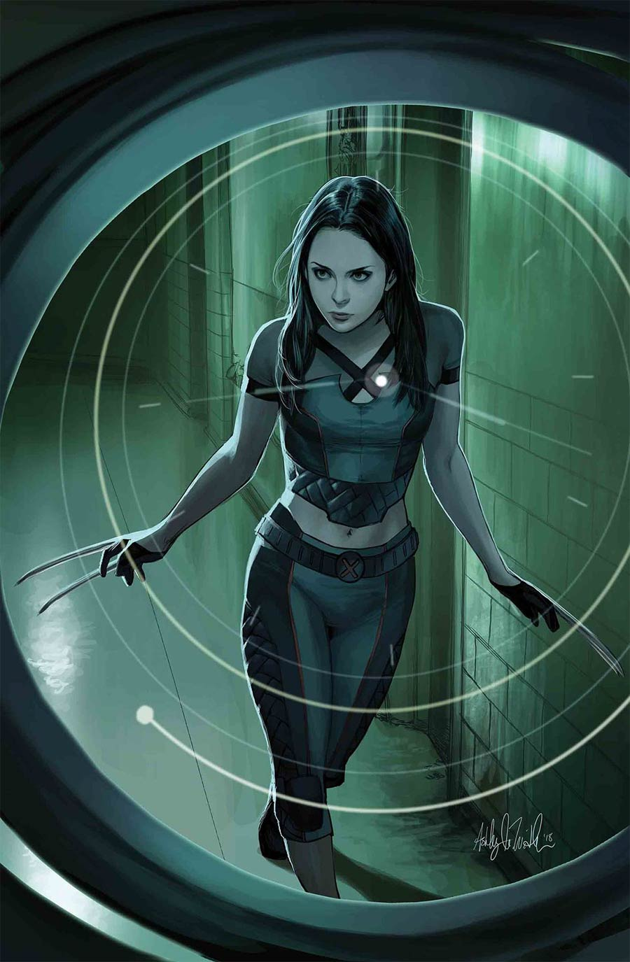 X-23 Vol 3 #7 Cover A Regular Ashley Witter Cover