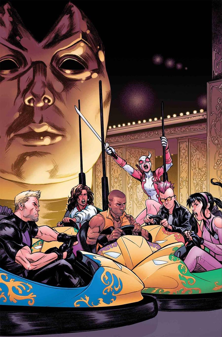 West Coast Avengers Vol 3 #5