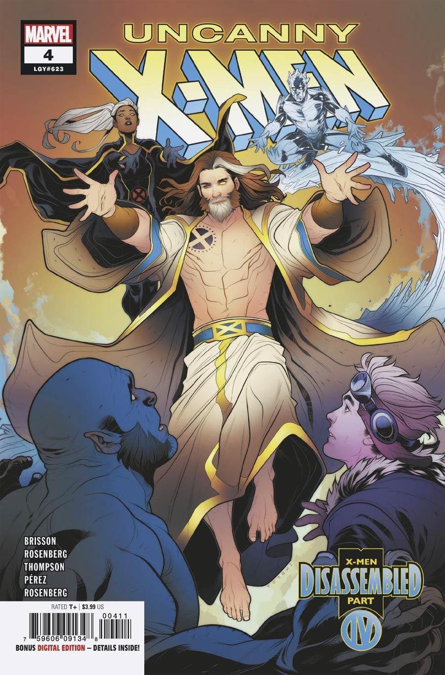 Uncanny X-Men Vol 5 #4 Cover A Regular Elizabeth Torque Cover