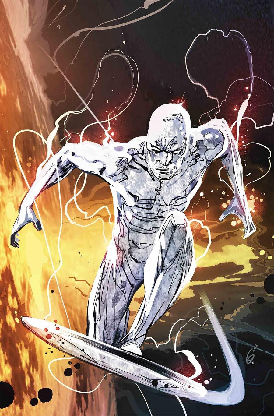 Defenders Silver Surfer #1 Cover A Regular Ron Garney Cover (Best Defense Part 4)