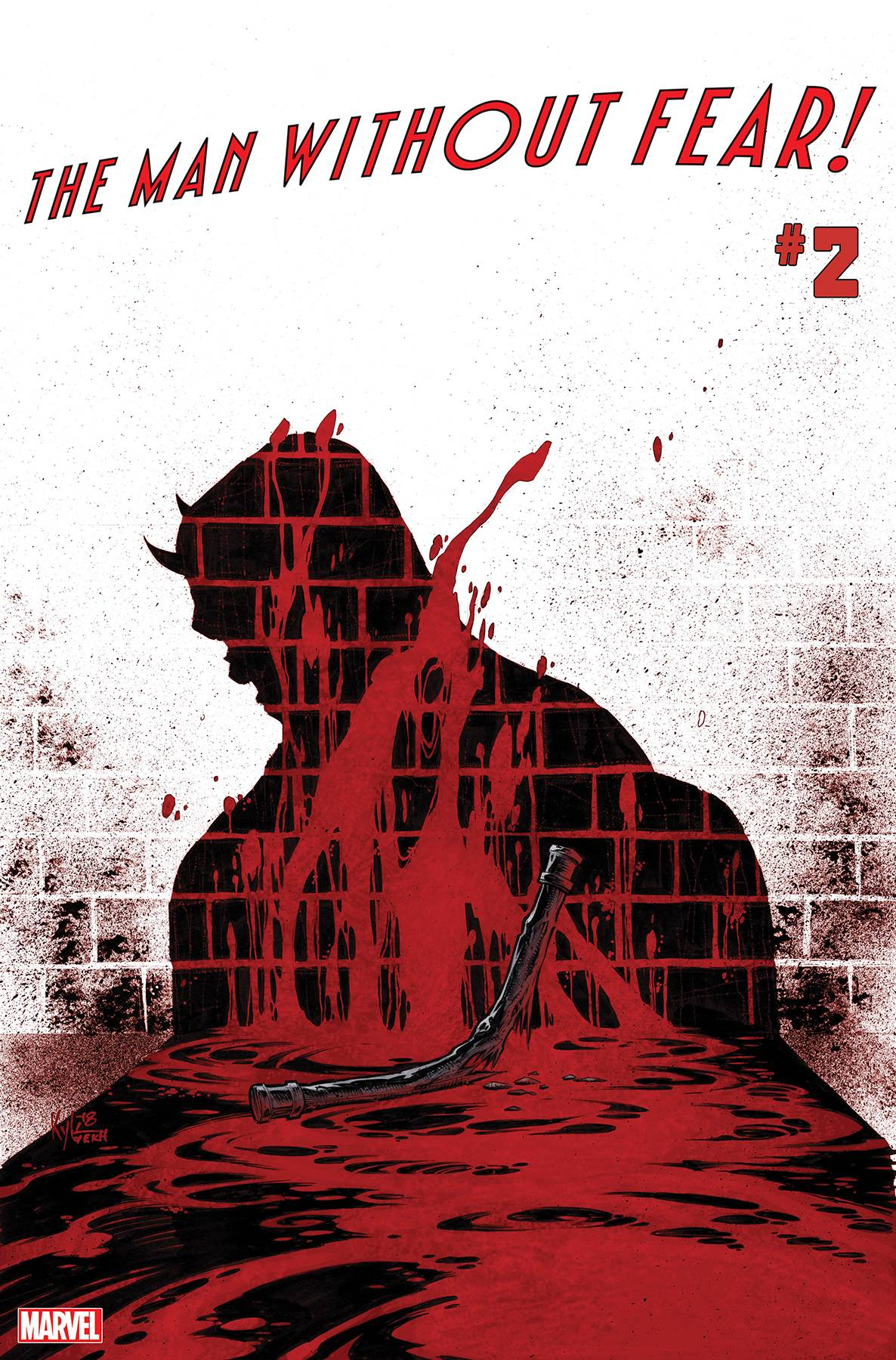 Man Without Fear #2 Cover A Regular Kyle Hotz Cover