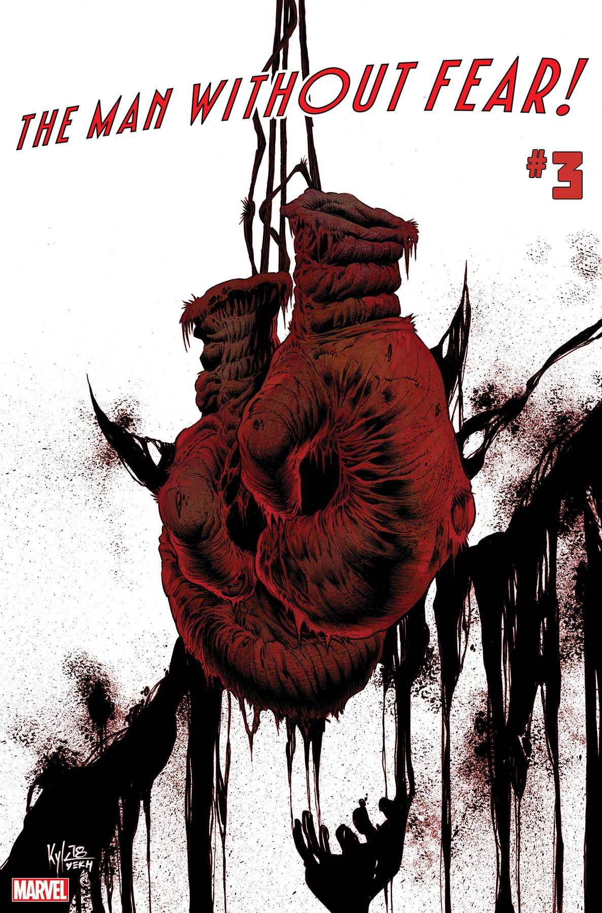 Man Without Fear #3 Cover A Regular Kyle Hotz Cover