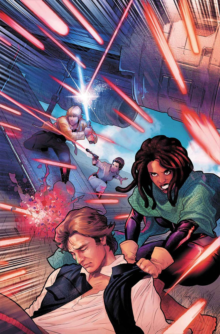 Star Wars Vol 4 #61 Cover A Regular Jamal Campbell Cover