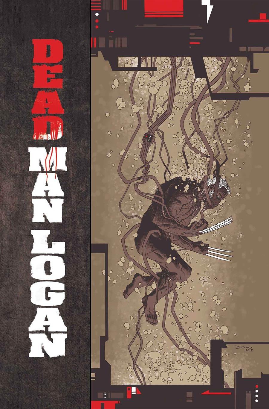 Dead Man Logan #4 Cover A Regular Declan Shalvey Cover