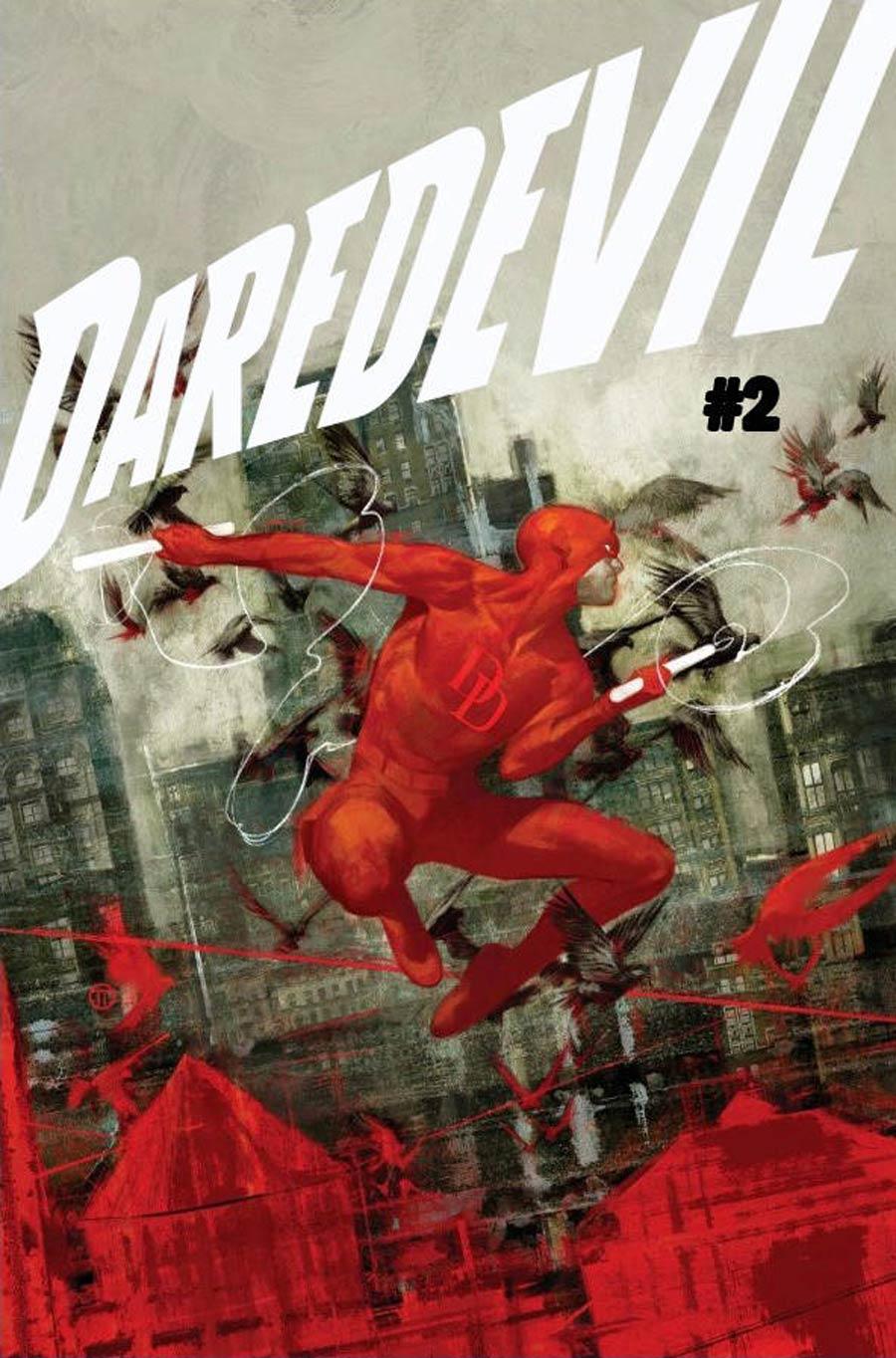 Daredevil Vol 6 #2 Cover A Regular Julian Totino Tedesco Cover