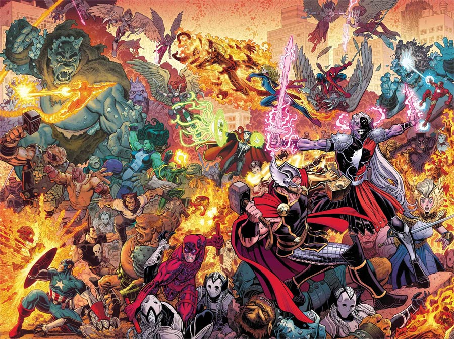 War Of The Realms #2 Cover A Regular Arthur Adams & Matthew Wilson Cover