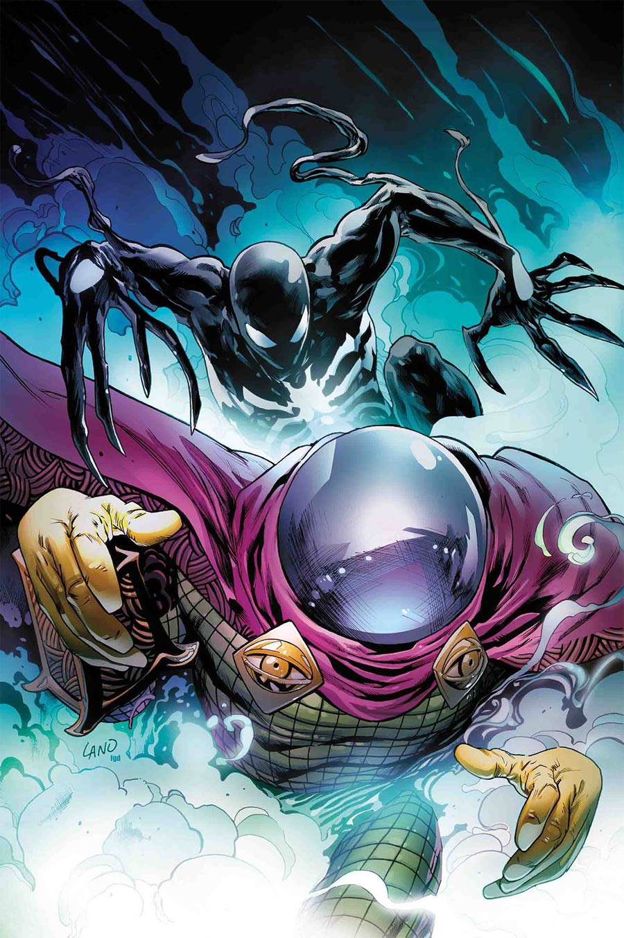 Symbiote Spider-Man #2 Cover A Regular Greg Land Cover