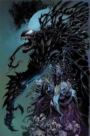 Venom Vol 4 #15 Cover A Regular Kyle Hotz Cover (War Of The Realms Tie-In)