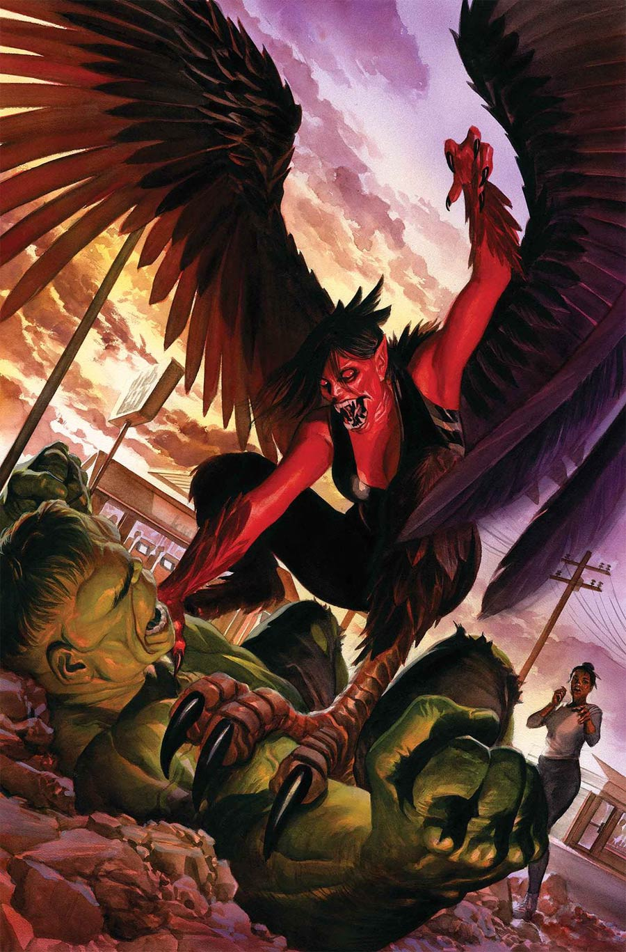 Immortal Hulk #20 Cover A Regular Alex Ross Cover