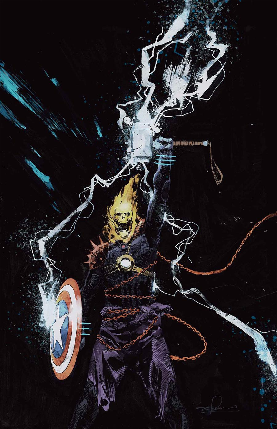 Cosmic Ghost Rider Destroys Marvel History